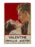 """Valentine"" (Phyllis Austin) They Kiss Giclee Print by  Doco"