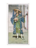 Nanki-Poo the Mikado's Son Disguised as a Wandering Minstrel Who Will Fall in Love with Yum-Yum Giclee Print by H.m. Brock