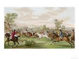 Horse Racing in France Reproduction procédé giclée par  Debucourt