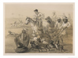 Country Hunt in India Giclee Print by Captain G.f. Atkinson