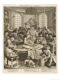 Reward for Cruelty Hideously Dissected by Zealous Medics Giclee Print by William Hogarth