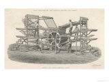 Hoe&#39;s Six Feeder Type Revolving Fast Printing Machine Giclee Print by Laurence Stephen Lowry