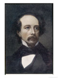 Charles Dickens English Writer Circa 1850s Giclee Print by Ary Scheffer