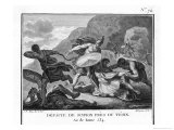 Second Punic War: Hannibal Defeats Scipio Near Ticino Giclee Print by Augustyn Mirys