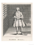 James Hall Shown in Fetters. Dissolute Servant of an Elderly Gentleman Giclee Print by Robert Grave