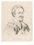 Alonso di Ojeda Navigator with Columbus, Giclee Print