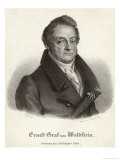 Ferdinand Ernst Gabriel Graf Von Waldstein Friend of Beethoven and Dedicatee Giclee Print by A. Machek