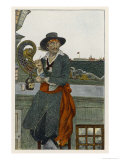 Captain Kidd Aboard the &quot;Adventure&quot; Galley Giclee Print by Howard Pyle