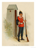 Member of the 24th South Wales Borderers Giclee Print by Charles Simpson