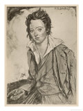 Percy Bysshe Shelley Writer Giclee Print by A.s. Hartrick