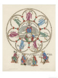 Philosophy Enthroned Surroun- -Ed by the Sciences Giclee Print by Engelhardt