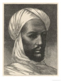 "Mohammed Ahmed Known as ""The Mahdi"" Moslem Agitator in the Sudan Giclee Print by Montbard"