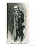 The Final Problem the Evil Professor Moriarty Giclee Print by Sidney Paget