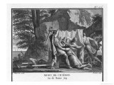 Cicero is Murdered by Popilius Acting on Behalf of Marcus Antonius Giclee Print by Augustyn Mirys