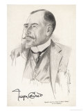 Joseph Conrad Polish-Born Writer in 1921 Giclee Print by R.g. Mathews