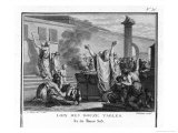The Twelve Tables Rome's First Legal Code is Drawn up by a Commission Giclee Print by Augustyn Mirys