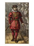 Military Dress Giclee Print by Petherick 