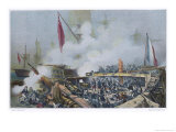 Battle of the Nile Giclee Print by Mayer &amp; Bayot 