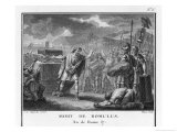 The Death of Romulus Giclee Print by Augustyn Mirys