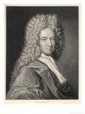 Daniel Defoe Writer Giclee Print by Michael van der Gucht