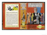 """Very Good, Jeeves"" - Bertie Wooster's Imperturbable Gentleman's Gentleman is Looked to for Counsel, Giclee Print"
