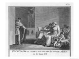 The Plebeians are Admitted to Consular Dignity Giclee Print by Augustyn Mirys