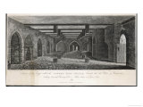 Interior of the Crypt Beneath the Old Palace of Westminster Looking Towards Charing Cross Giclee Print by G. Dale