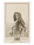 Thomas Marquis of Wharton Statesman Giclee Print by Cooper 