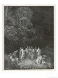 Homer the Classic Poets Giclee Print by Gustave Doré
