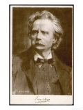 Edvard Hagerup Grieg Norwegian Musician Giclee Print by F. Rumpf