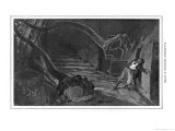 The War of the Worlds' the Martians Seize the Curate Giclee Print by Henri Lanos