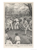 At Rugby School Rugby Football as Played at Rugby School Giclee Print by Louis John Rhead