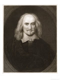 Thomas Hobbes Philosopher Giclee Print by Posselwhite