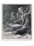 David Lloyd George Giclee Print by Samuel Begg