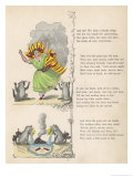 "The Dreadful Story About Harriet and the Matches ""She Burns All Over Everywhere"" Giclee Print by Heinrich Hoffmann"