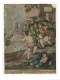 Busy Scene at Wapping Old Stairs Giclee Print by Thomas Rowlandson