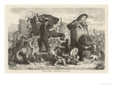 Ptolemy 1 Soter Ruler of Egypt Defeats Demetrius Poliorcetes at Gaza Premium Giclee Print by H. Leutemann