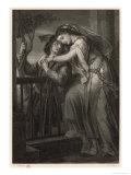 Romeo and Juliet, Act II Scene II: The Balcony Scene Wydruk giclee autor G. Goldberg