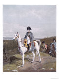 Napoleon on Horseback 1814 Giclee Print by  Meissonier