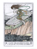 I Saw the Banshee Flying Giclee Print by Florence Harrison
