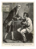 Granville Sharp Takes up the Cause of Negro Slaves Giclee Print by Edward Robert Hughes