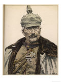 Wilhelm II German Ruler Between June 1888 and November 1918 Giclée-Druck von Angelo Jank