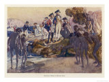 Captain Arthur Phillip Lands in Sydney Cove and Has His First Encounter with the Aboriginals Giclee Print by G.w. Lambert