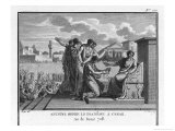 Julius Caesar is Offered the Crown by Marcus Antonius Giclee Print by Augustyn Mirys