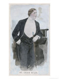 Oscar Wilde at the Height of His Success Giclee Print by Oliver Paque