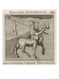 Centaurus Star Figure Giclee Print by Gaius Julius Hyginus