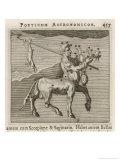 Centaurus Star Figure Giclee Print by Gaius Julius Hyginus
