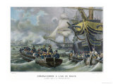 Egyptian Campaign to Assure His Supply Lines Napoleon Takes Malta from the Governing Order Giclee Print by Gudin