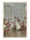 He Dances with Maria Luisa at Compiegne Gicl&#233;e-Druck von Lucius Rossi