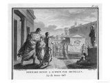 Metellus Though a Political Opponent of Scipio Honours His Memory after His Murder Giclee Print by S.d. Mirys